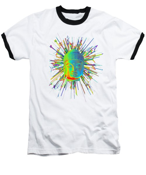 colorful Korean sparkle Baseball T-Shirt by Terrell Kaucher