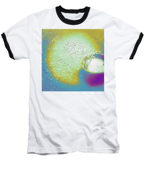 Colorful Pond Baseball T-Shirt