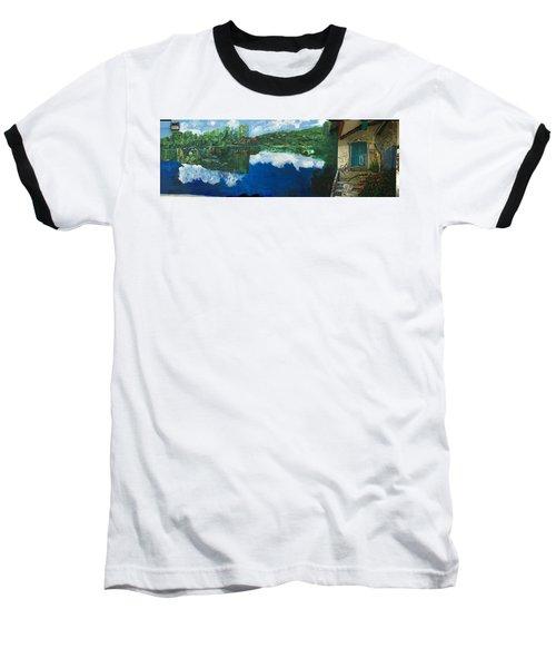 Coloring Holland V - Wall Four Baseball T-Shirt