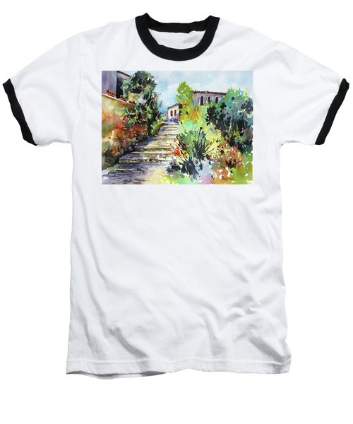 Colors Of Spain Baseball T-Shirt by Rae Andrews