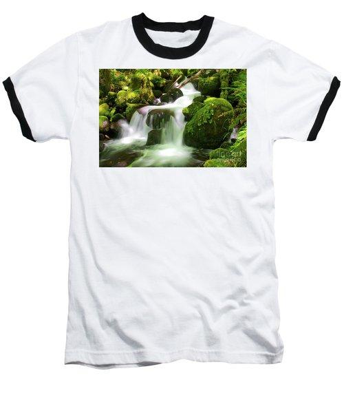 Columbia Gorge Stream Baseball T-Shirt
