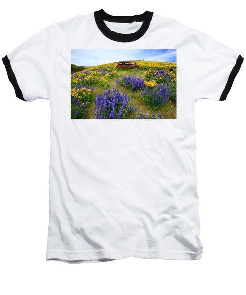 Columbia Hills Wildflowers Baseball T-Shirt