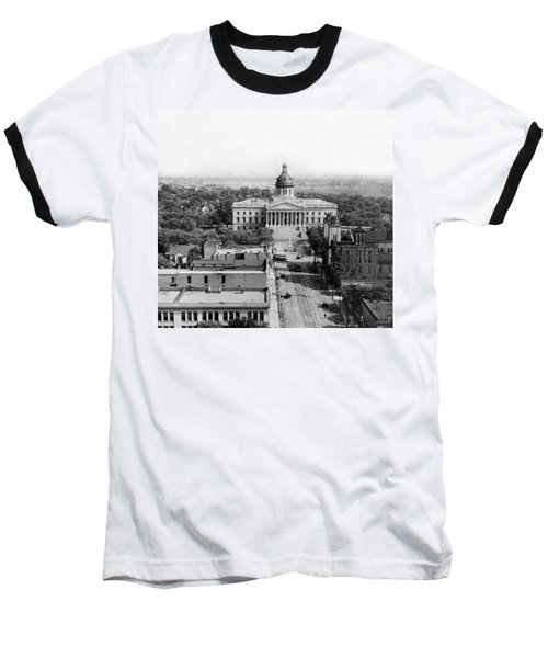 Columbia South Carolina - State Capitol Building - C 1905 Baseball T-Shirt by International  Images