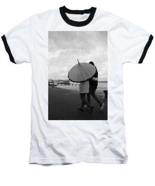 Come Rain Or Shine Baseball T-Shirt