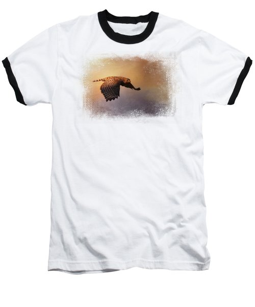 Coming In For The Evening Baseball T-Shirt by Jai Johnson