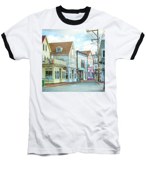 Commercial St #1 Baseball T-Shirt