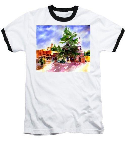 Commercial Street, Old Town Auburn Baseball T-Shirt