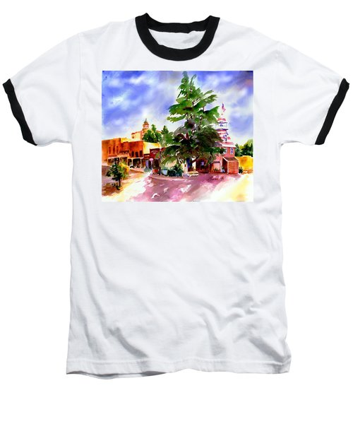 Commercial Street, Old Town Auburn Baseball T-Shirt