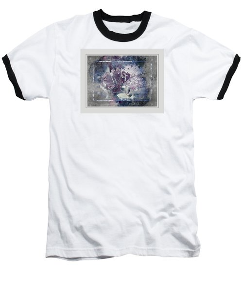 Common Buckeye In Blues Baseball T-Shirt