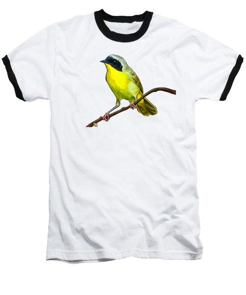 Common Yellowthroat Baseball T-Shirt by Rory Viale