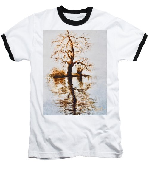 Como Lake Reflections Baseball T-Shirt