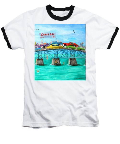Conch Day Baseball T-Shirt