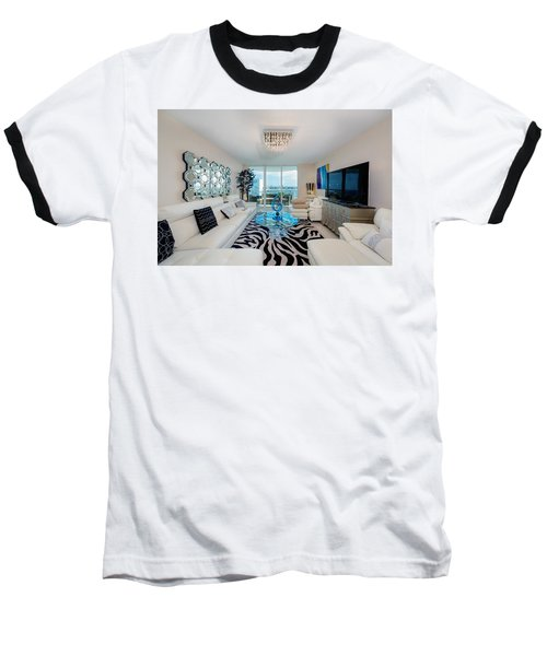 Condo Living Baseball T-Shirt