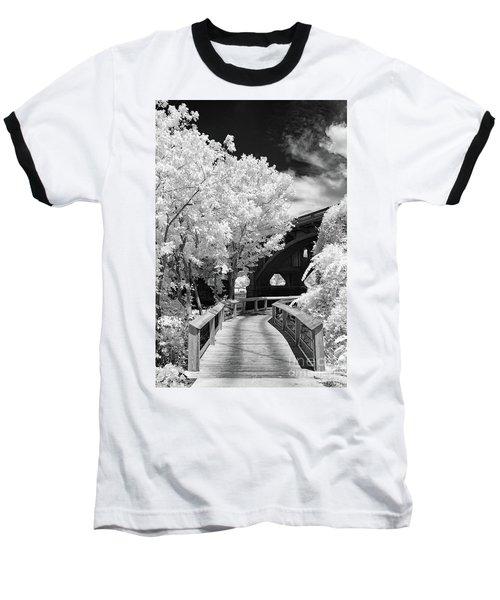 Congaree River Boardwalk Baseball T-Shirt