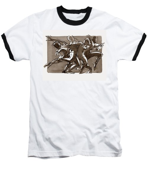Contemporary Dance Quartet - Lucky Plush, Chicago Baseball T-Shirt