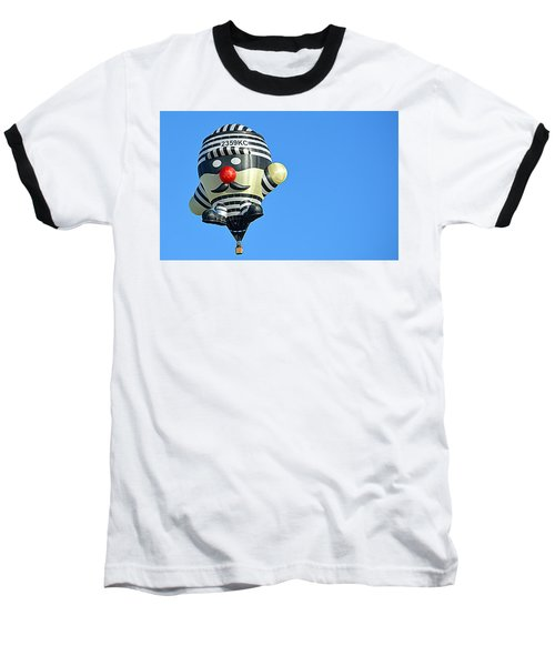 Baseball T-Shirt featuring the photograph Convict by AJ Schibig