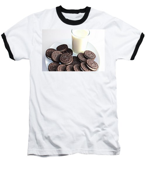 Cookies And Milk Baseball T-Shirt