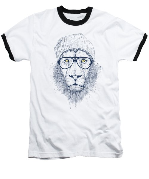 Cool Lion Baseball T-Shirt