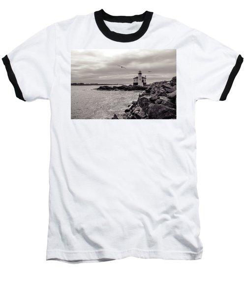 Coquille Lighthouse Oregon  Baseball T-Shirt