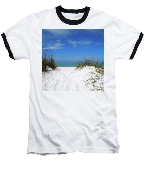 Coquina Dunes Baseball T-Shirt