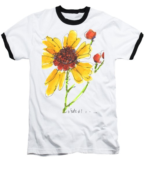 Coreopsis By Kathleen Mcelwaine Baseball T-Shirt