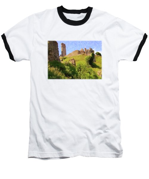 Corfe Castle Baseball T-Shirt