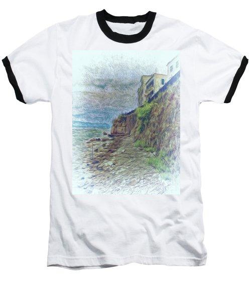 Corfu 33 - Corfu Rocks Baseball T-Shirt