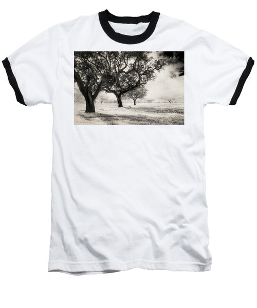 Cork Trees Baseball T-Shirt by Celso Bressan