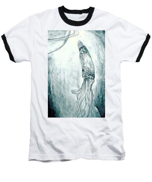 Corn In Space Baseball T-Shirt