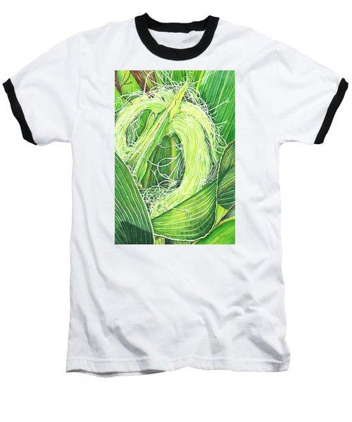 Corn Silk Baseball T-Shirt