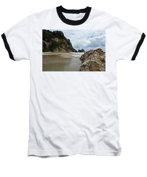 Coromandel, New Zealand Baseball T-Shirt by Yurix Sardinelly