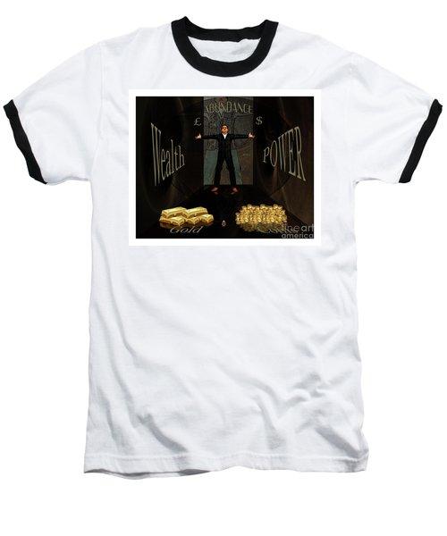 Corridor Of Wealth Baseball T-Shirt