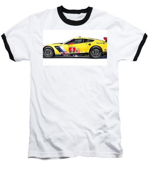 Corvette C7.r Lm Illustration Baseball T-Shirt