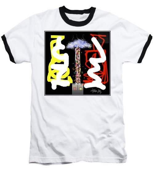 Cosmic Geisha - Angry Mountain Messenger Baseball T-Shirt