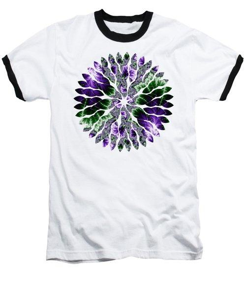 Cosmic Leaves Baseball T-Shirt