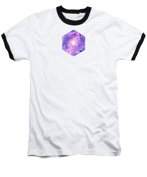 Cosmic Vacuum Cleaner Spiral Galaxy M83 Baseball T-Shirt
