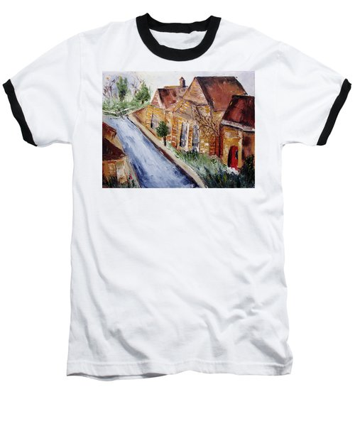 Cotswold Street Baseball T-Shirt by Roxy Rich