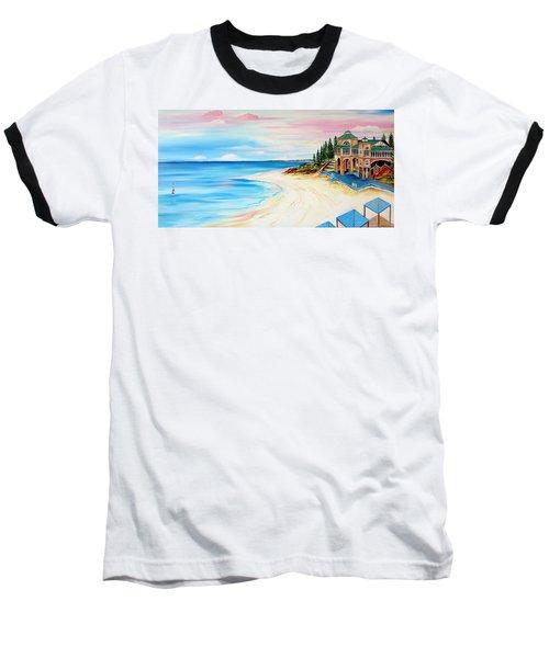 Cottesloe Beach Indiana Tea House Baseball T-Shirt