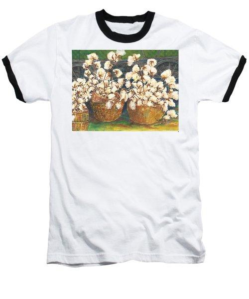 Cotton Basket Baseball T-Shirt