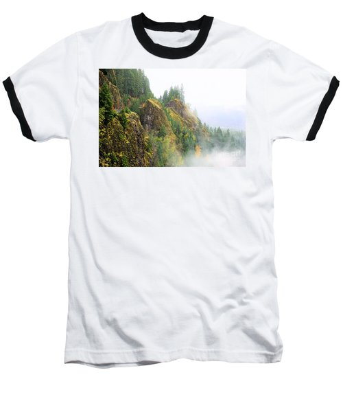 Cougar Reservoir Area Baseball T-Shirt