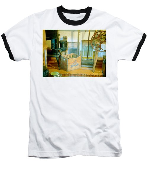 Baseball T-Shirt featuring the painting Country Kitchen Sunshine II by RC deWinter