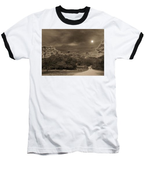 Baseball T-Shirt featuring the photograph Country Moonlight by Beto Machado