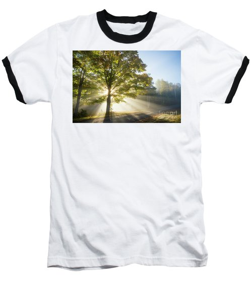Country Road Baseball T-Shirt by Alana Ranney