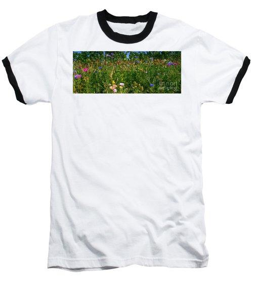 Country Wildflowers IIi Baseball T-Shirt