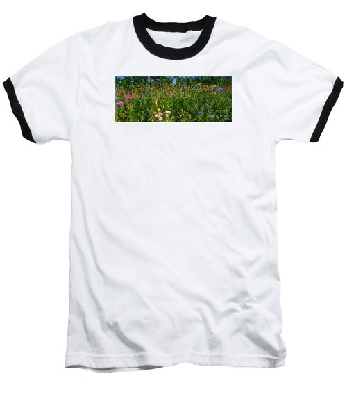 Country Wildflowers IIi Baseball T-Shirt