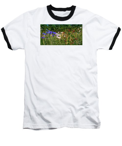 Country Wildflowers Iv Baseball T-Shirt