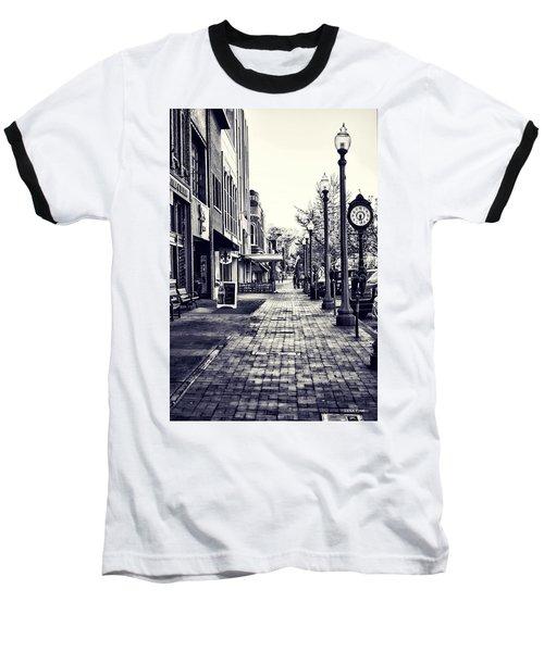 Court Street Clock Florence Alabama Baseball T-Shirt