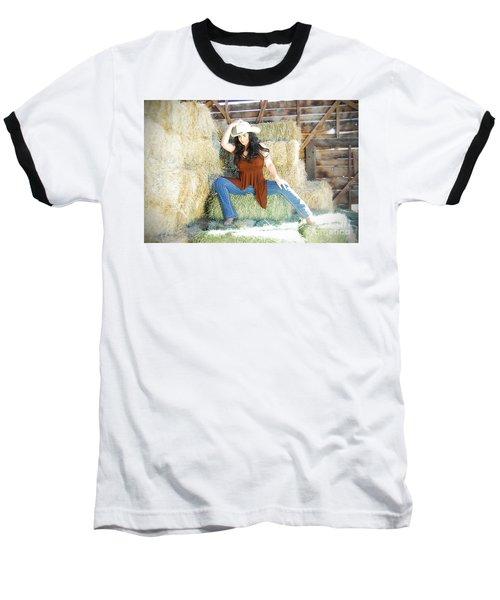 Cowgirl Baseball T-Shirt