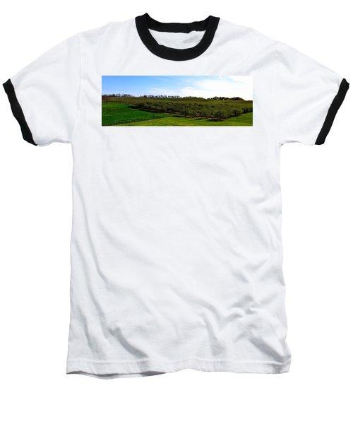 Crane Orchards Baseball T-Shirt