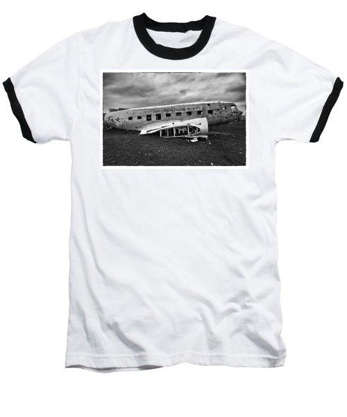 Crash Baseball T-Shirt by Wade Courtney